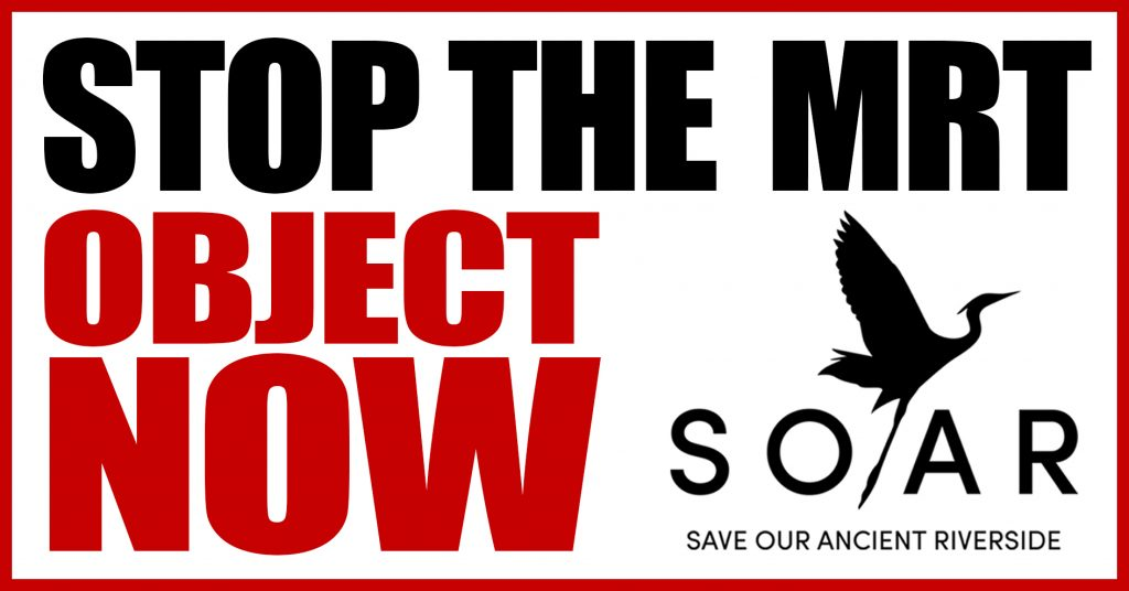 object now to stop the East Reading MRT