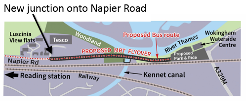 East Reading MRT route Napier Road