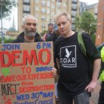 Demo at Reading Borough Council Offices