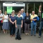 Campaigning at Wokingham council offices