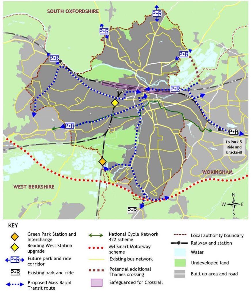 Major Transport Schemes in Reading Berkshire