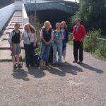 SOAR members at the riverside