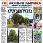Wokingham paper publish our findings on the number of trees that would be lost for the MRT